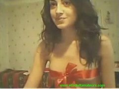 Cam: (no sound) College sweet beauty on livecam for her bf