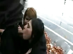 emo cuties fucking on the street