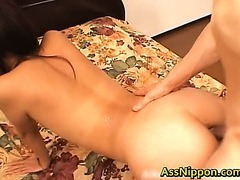 Dped and Creamed Asian Porn Clip