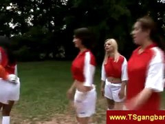 Soccer playing trannies overrule keeper