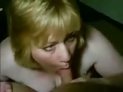 Older busty woman kills guy, teasing his pulsating penis with her large wet mouth and lengthy soft tongue.