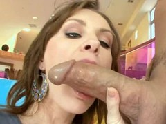 Luxurious oiled angel plays with weenie in advance of feeling it in cunt