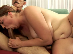 Very hot curly ebon can't live without getting her filthy cleft stuffed hard!