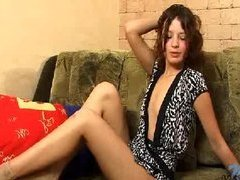 Redhead constricted legal age teenager Madeline sh...