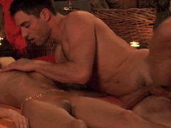 Fleshly massage and tantric love making