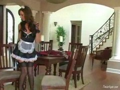 Tiffany is a excited maid 1
