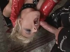 Perverted latex trio with fantastic bitches