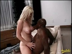 Large black cock anal with Alison Kilgore